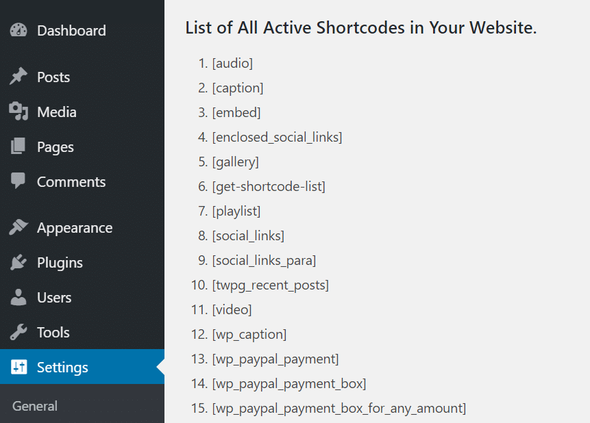 find-all-active-shortcodes-in-wordpress-3