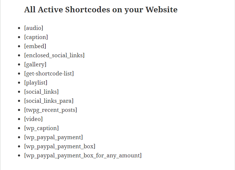 find-all-active-shortcodes-in-wordpress