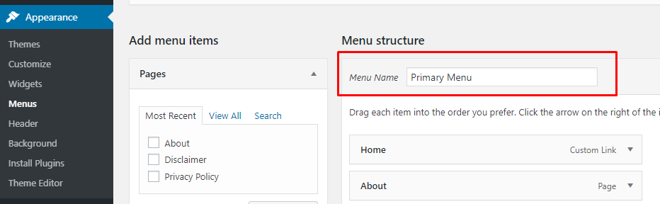 create-menu-shortcode-in-wordpress