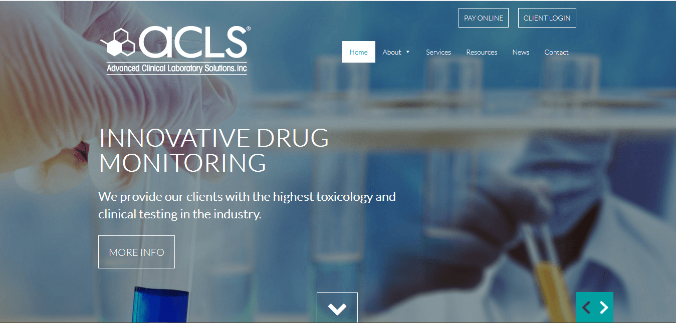 Advanced Clinical Laboratory Solutions - https://aclsdiagnostics.com