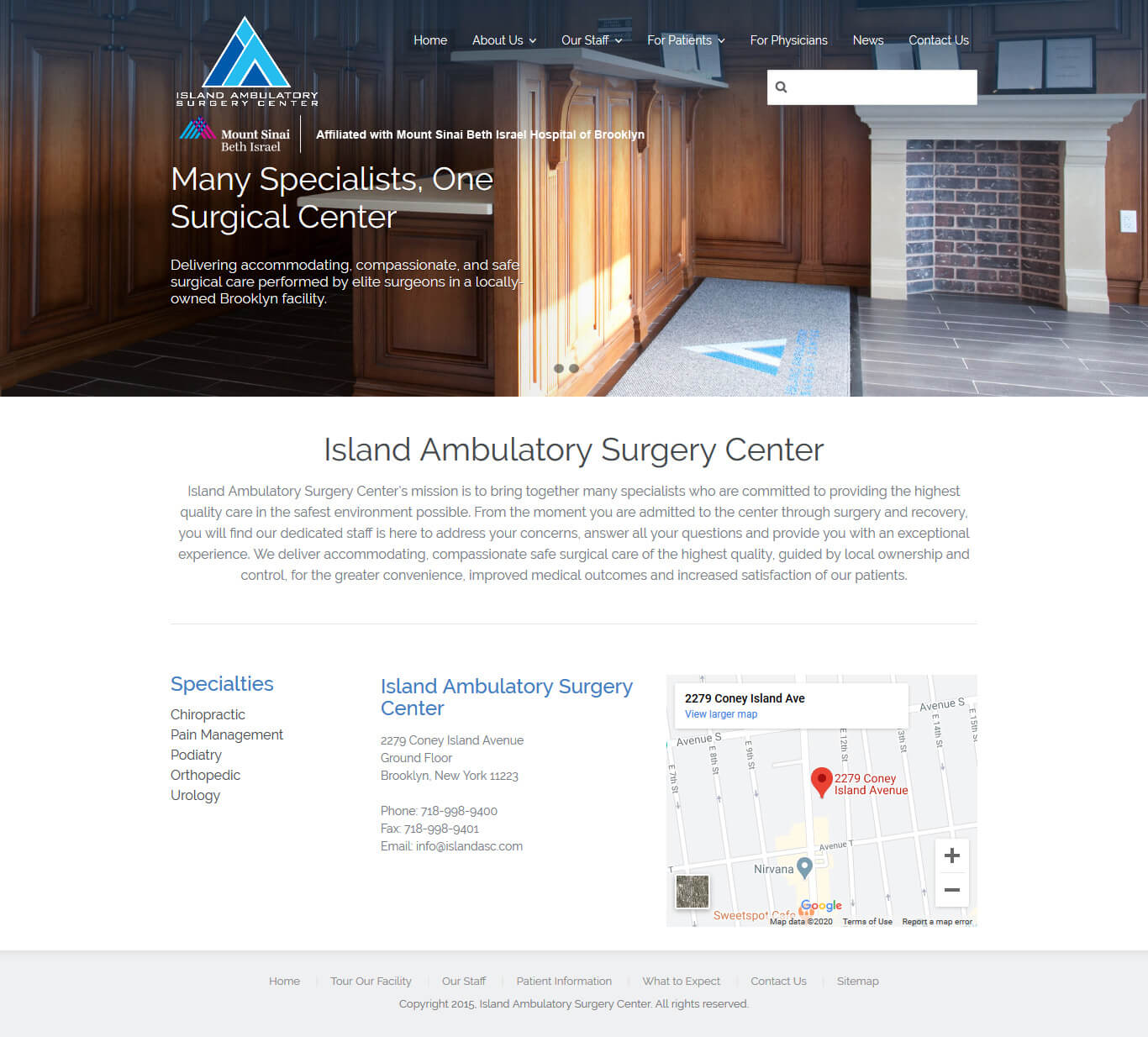 Island Ambulatory Surgery Center - http://www.islandasc.com