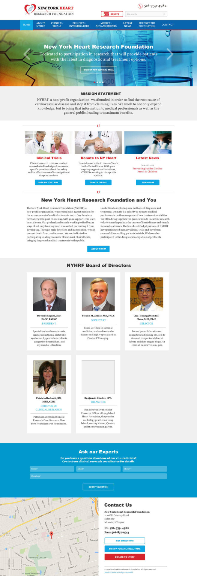 Newyork Heart Research Foundation
