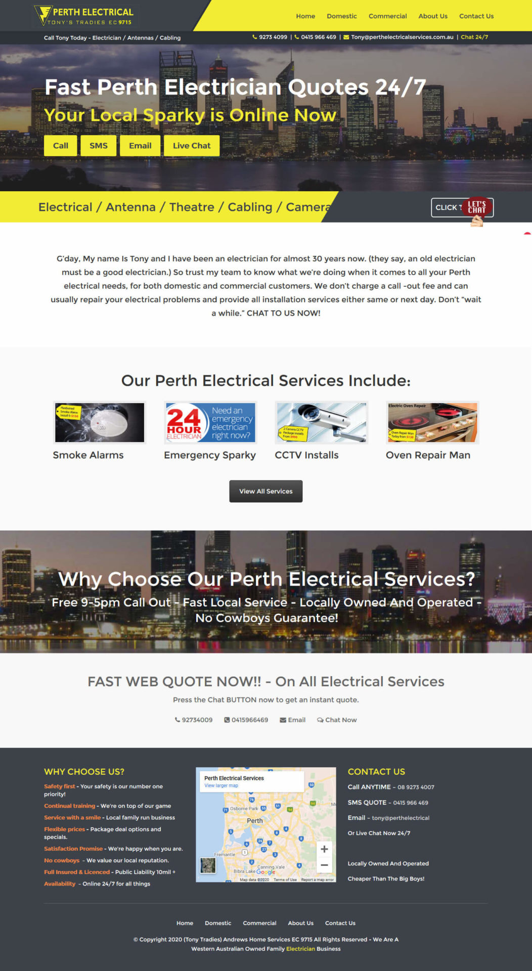 Perth Electrical Services - https://perthelectricalservices.com.au