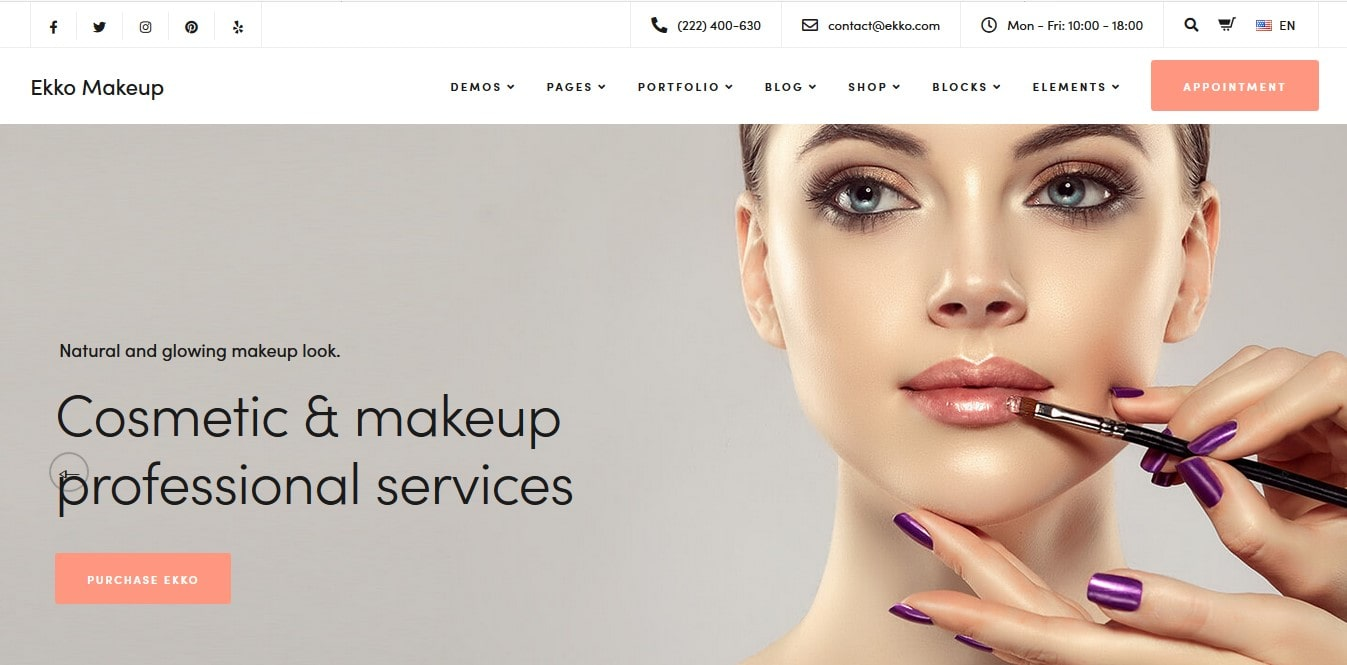 ekko-wordpress-theme-for-make-artist-and-beauty-salon-min